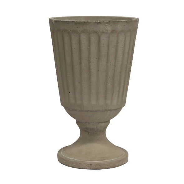 Zorah Large Fluted Base Urn