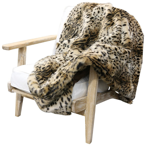 Faux Fur Throw Leo