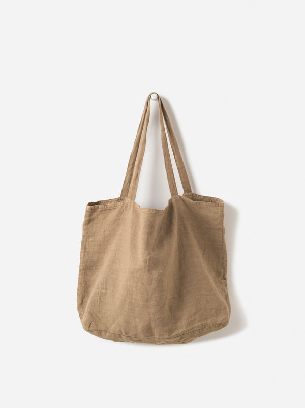 Washed Linen Bag Matcha