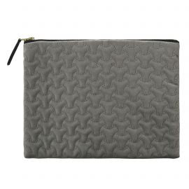 Velvet Wash Bag Grey