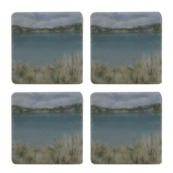Island Summer Coaster Set/4