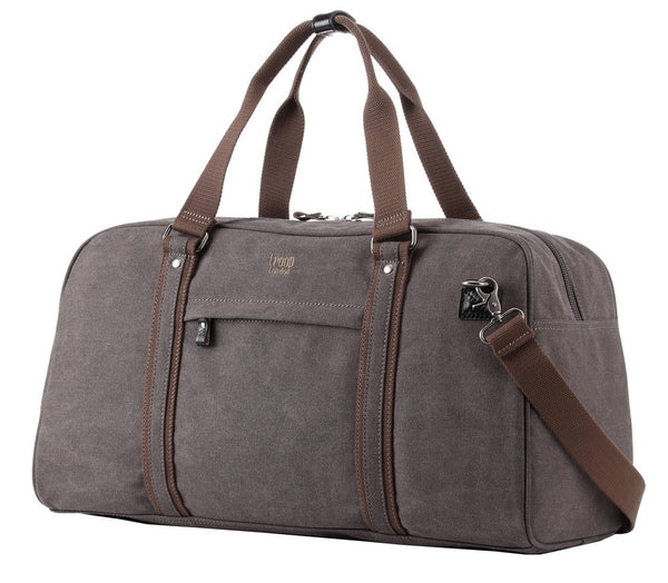 Explorer Holdall - Black with Khaki Trim