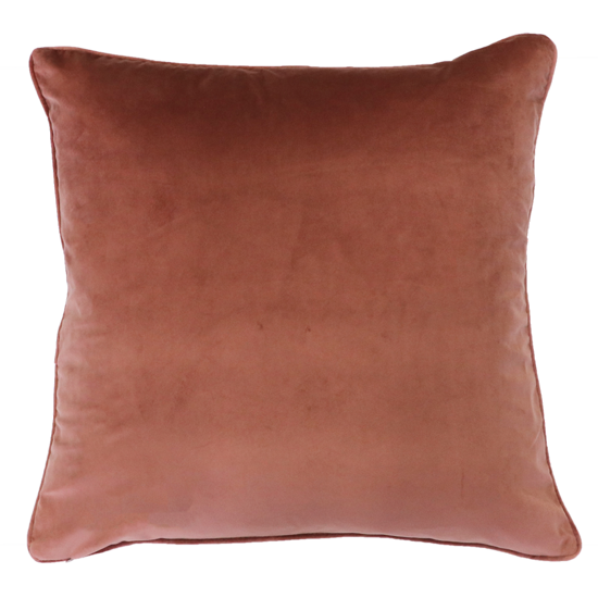Quattro Cushion with Feather Inner - Sunbaked Clay