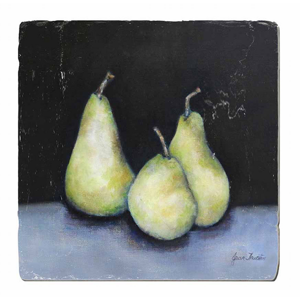 Midnight Pears Trivet