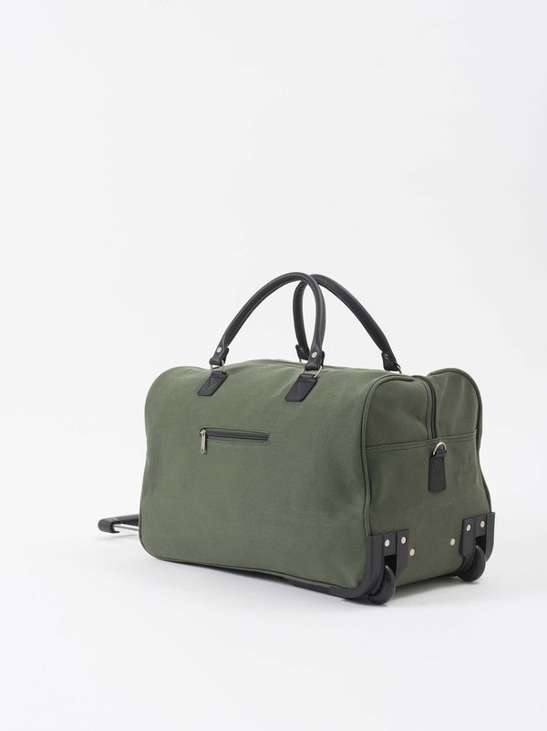 Canvas Trolley Bag Olive