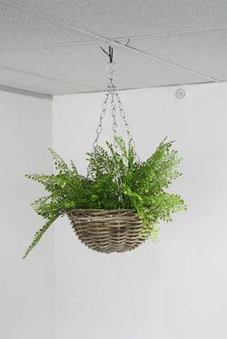 Hanging Rattan Basket Natural 40cm