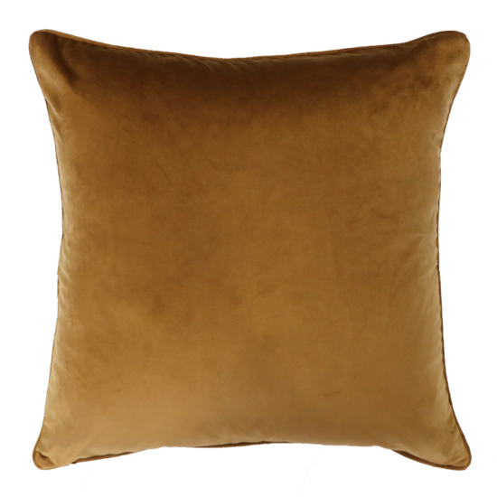 Quattro Cushion with Feather Inner - Brass