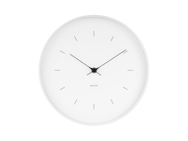 Karlsson Butterfly Clock White Medium