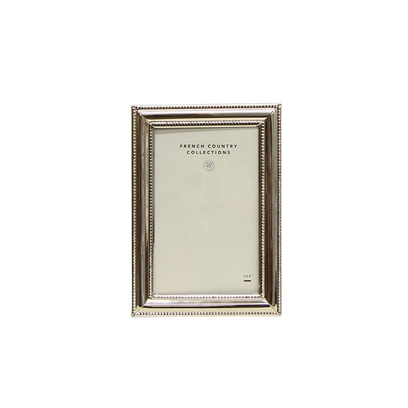 Rosa Thick Silver Frame 4x6""