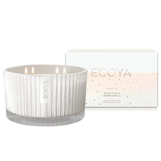 White Musk & Warm Vanilla Grand Celebration Candle