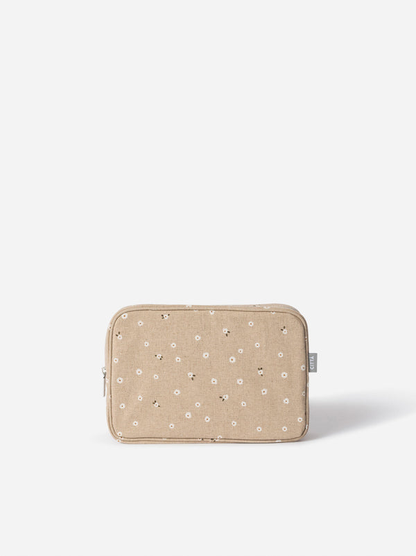 Billie Cosmetic Case Latte/Multi L