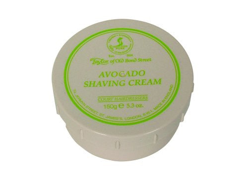 Taylor of Old Bond Street Avocado Shave Cream Bowl 150gm