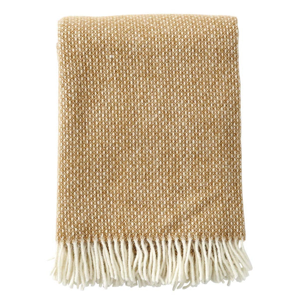 Throw 100% Lambs Wool - Freckles Amber