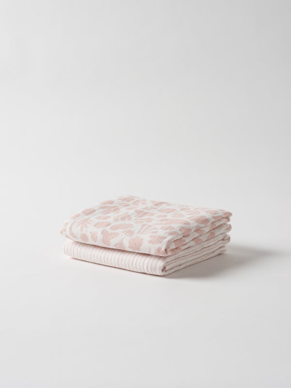 Secret Garden Organic Cotton Muslin Wrap S/2