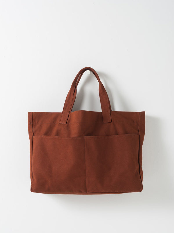 Oversized Carryall Bag Brick