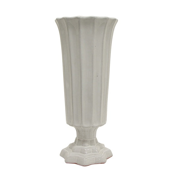 Stella Ribbed Vase Tall
