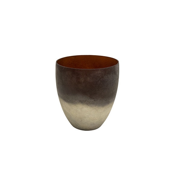 Medium Amber Frost Votive