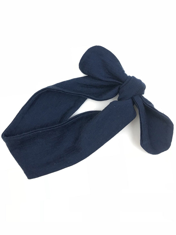 Merino Headband Navy