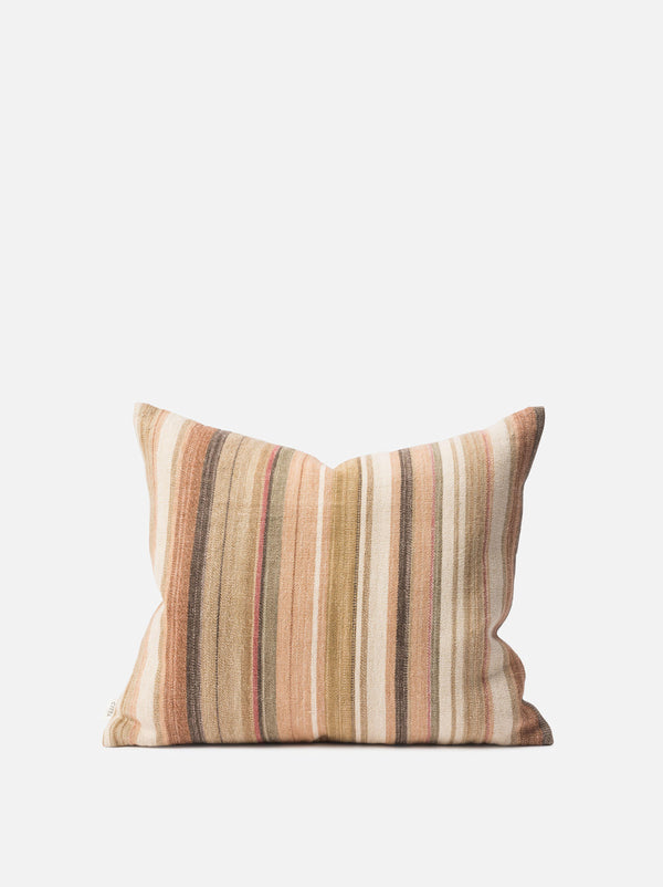 Nina Cotton Jute Cushion Cover Multi