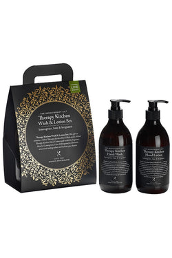 Therapy Kitchen Wash & Lotion Set Lemongrass, Lime & Bergamot