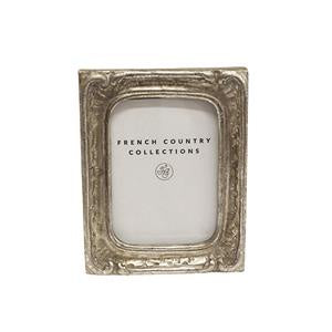 Antique Mini Silver Rect Frame 2x3""