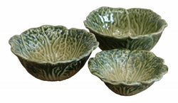 Cabbage Leaf Bowl Small