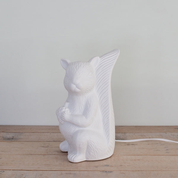 Table Lamp, Squirrel