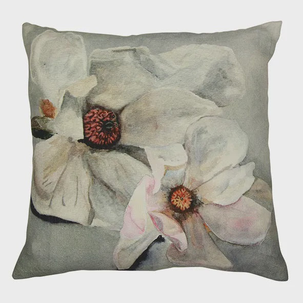 Magnolia Light Blue Cushion