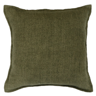 Flaxmill Cushion - Winter Moss