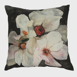 Magnolia Charcoal Cushion