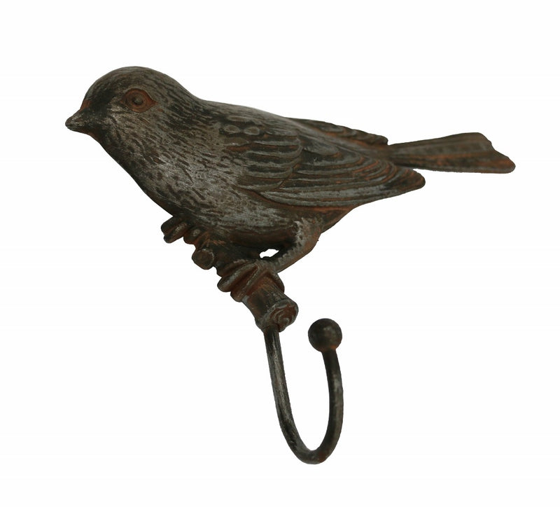 Pewter Style Bird Hook