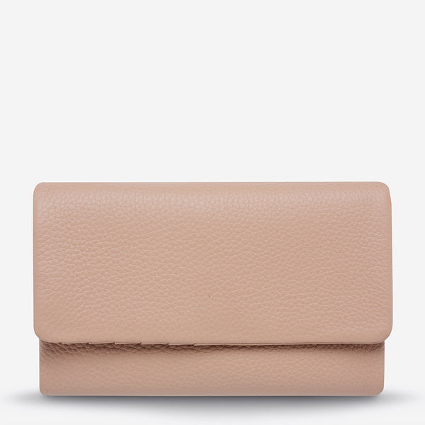 Audrey Wallet Pebble Dusty Pink