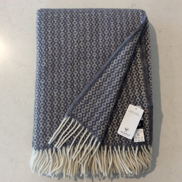 Throw 100% Lambs Wool - Rumba Warm Grey