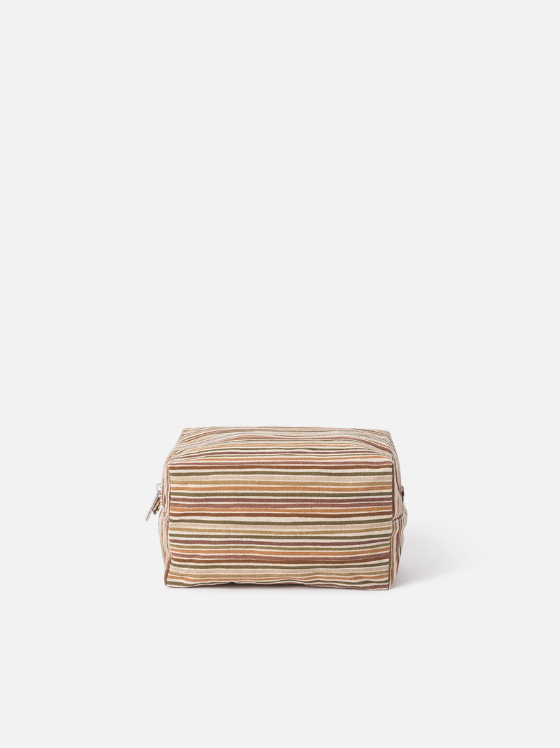 Hara Wash Bag Brick/Multi L