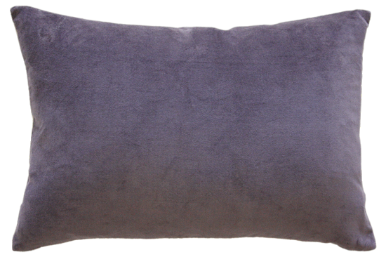 Sovereign Velvet/Linen Cushion with Polyester Inner Grape