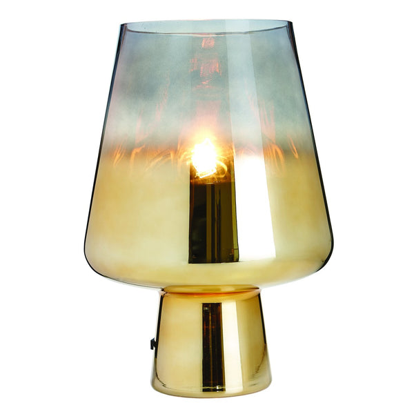 The Mushroom Lamp Gold