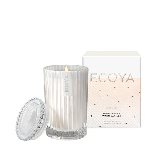 White Musk & Warm Vanilla - Mini Celebration Candle