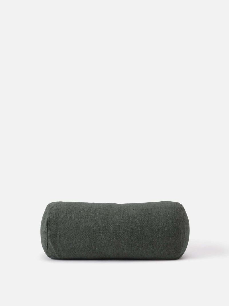 Handwoven Bolster Cushion Cover Nori