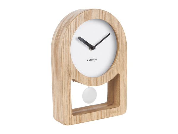 Karlsson Lena Table Clock White