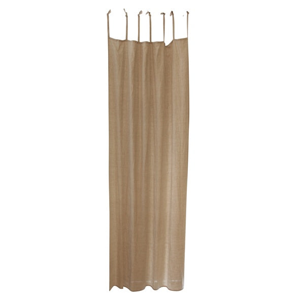 Natural Linen Curtain 140Wx250L