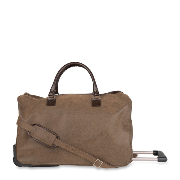Angola Trolley Bag Brown
