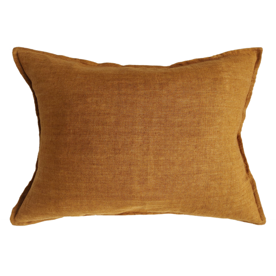 Arcadia Cushion with Feather Inner Tobacco