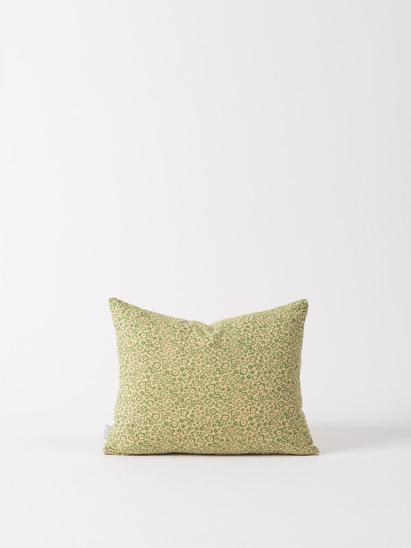 Flora Cushion Cover Flax/Dijon 45x35cm