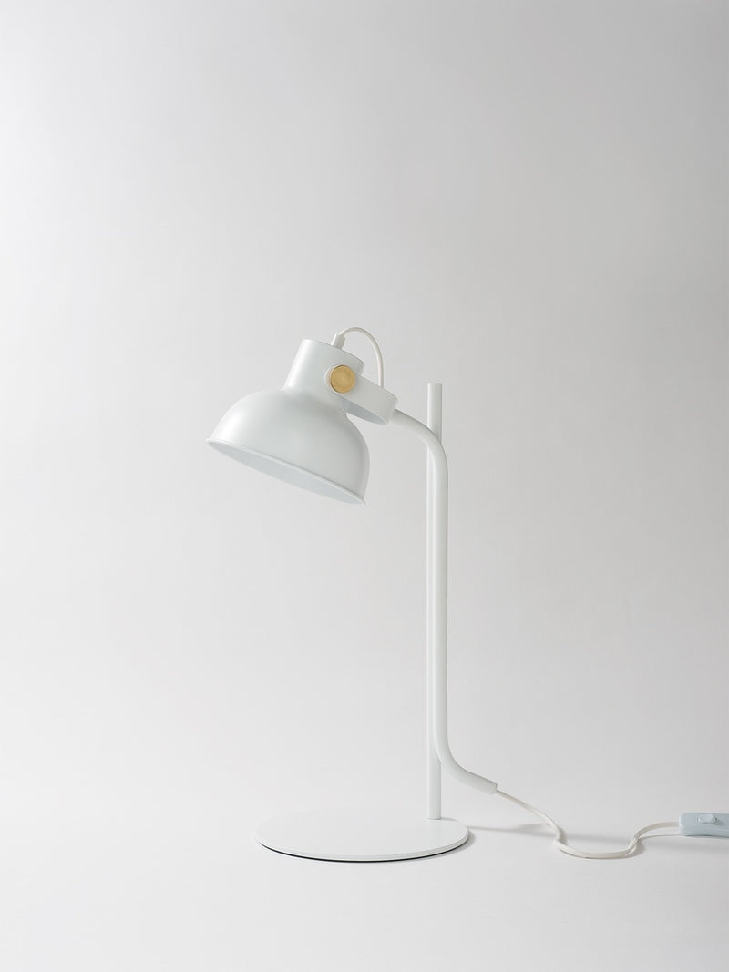 Shift Table Lamp Matte White