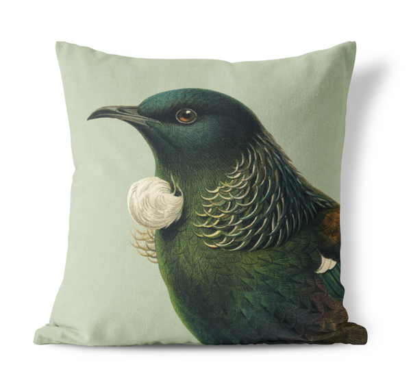 Hushed Tui Cushion Cover-Green 45cm
