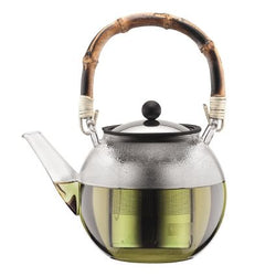 Tea Press 1.0l with Bamboo Handle