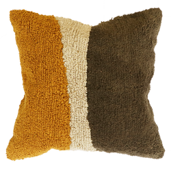 Lagos Cushion With Feather Inner  - Olive