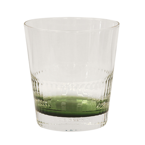 Ascot Green Tumbler Glass Set/4