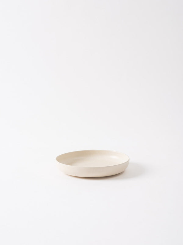 Milu Serving Bowl Off White S