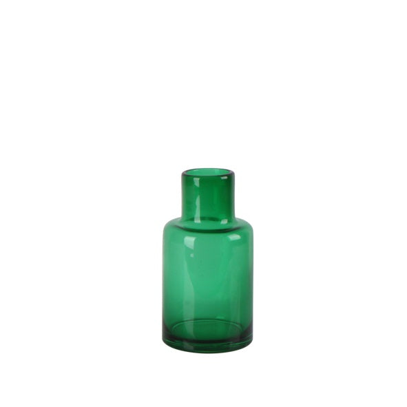 Small Dark Green Vase